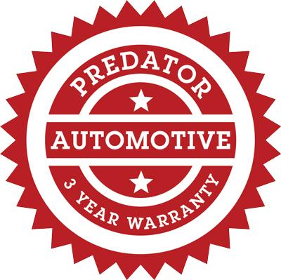 predator automotive 3 year warranty